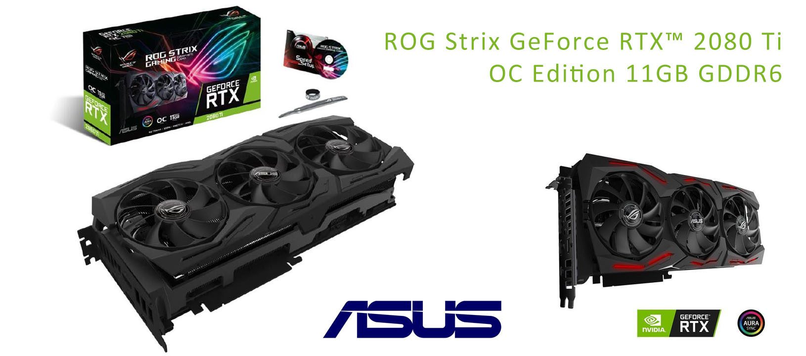 ROG Strix GeForce RTX™ 2080 Ti OC Edition 11GB GDDR6